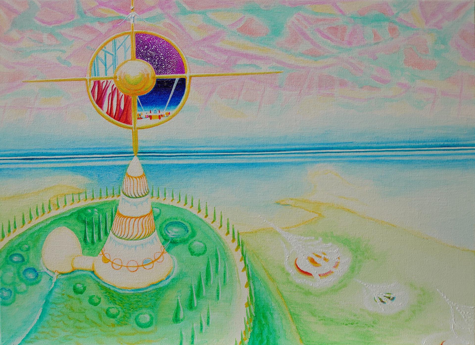 日輪の塔ー太陽の とある島の頂上に聳える塔ー